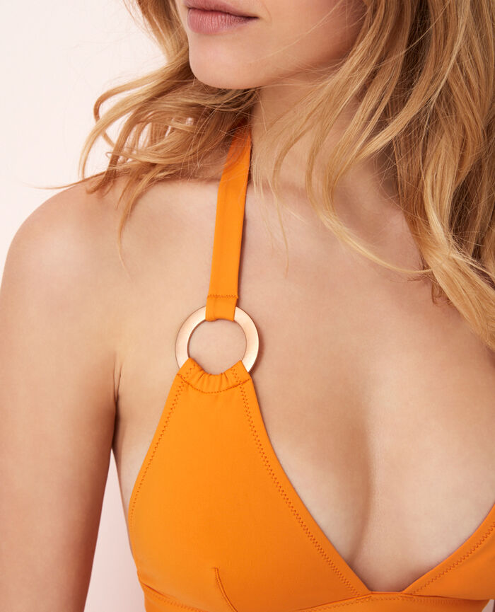 Triangel-Bikini-Oberteil Maya Orange ISAIA