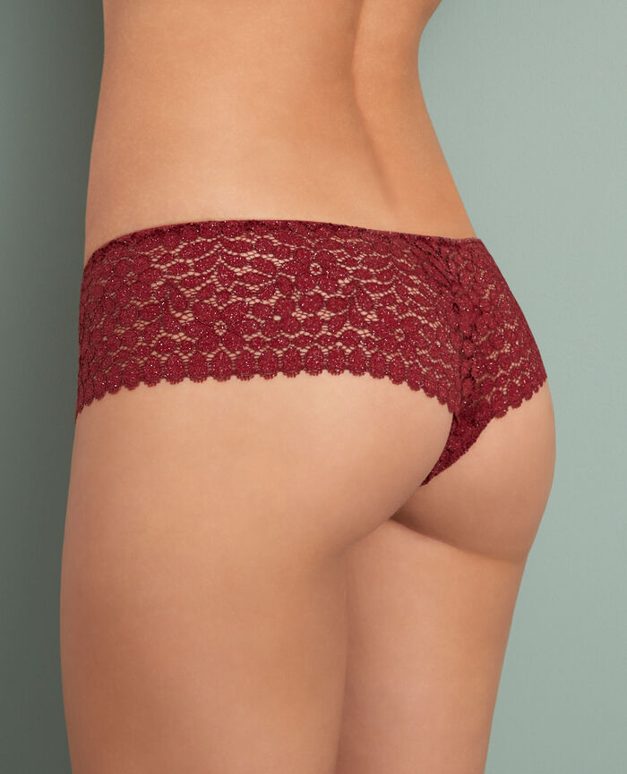 Brasilianischer Shorty Leder Rot MOVICA