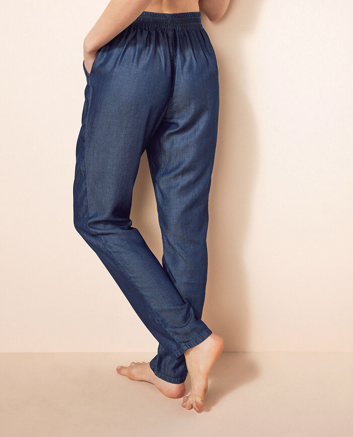 Hose Denimblau EASY