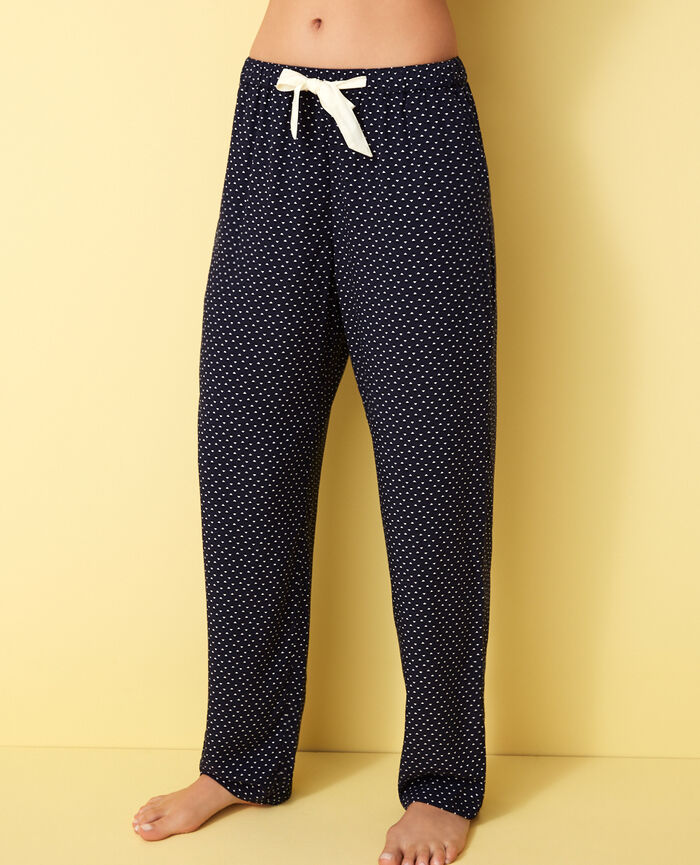 Pyjama-Hose Willie Blau DARLING