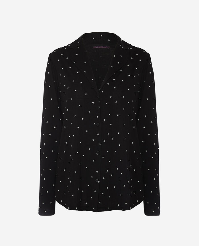 Pyjama-Jacke Moonlight LATTE