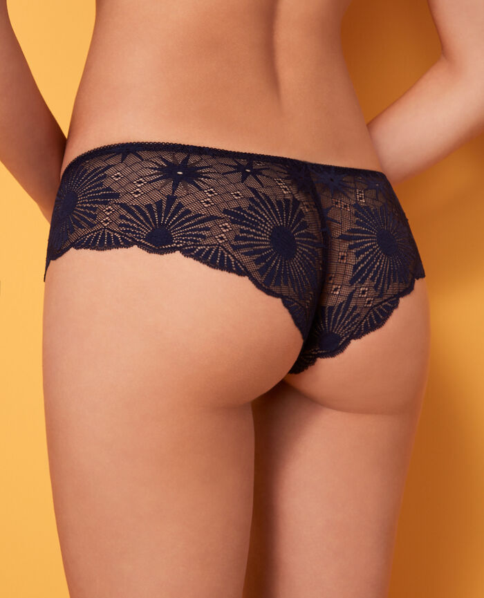 Brasilianischer Shorty Marineblau SOLEIL