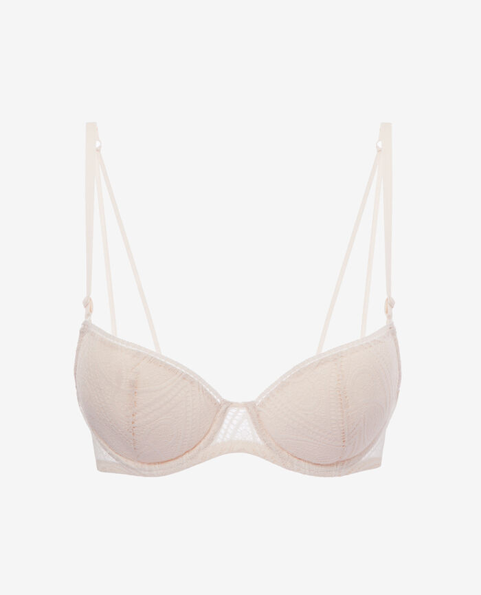 Gepolsterter Push-up-BH Ice Cream Rosa BOHEME