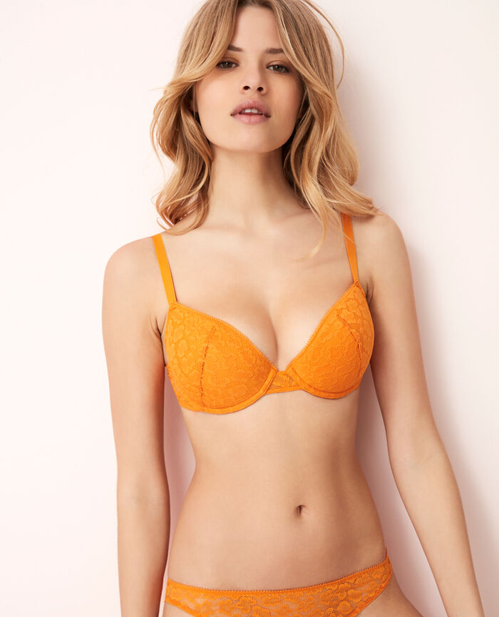 Gepolsterter Push-up-BH Maya Orange AZTEQUE