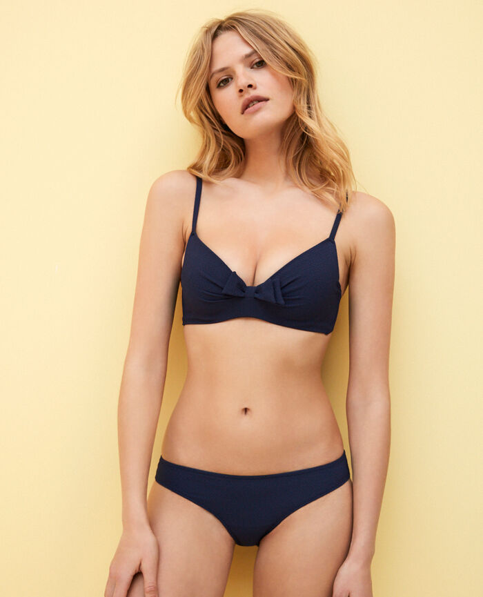 Hüftbikinislip Marineblau APRIL