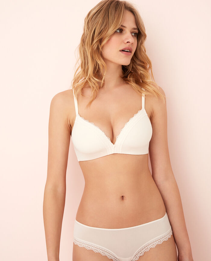 Spacer-BH ohne Bügel Weiß rosé AIR LINGERIE