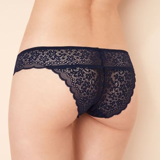 High-cut briefs Navy