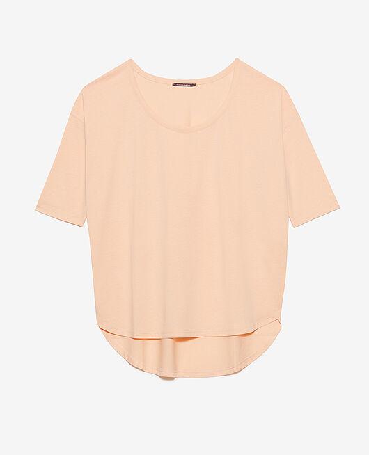 Langärmliges T-Shirt Pfirsichrosa TOP COLLECTION