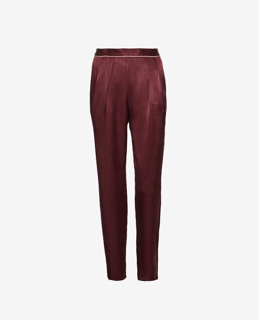 Pyjama Hose Pflaume SUBTIL