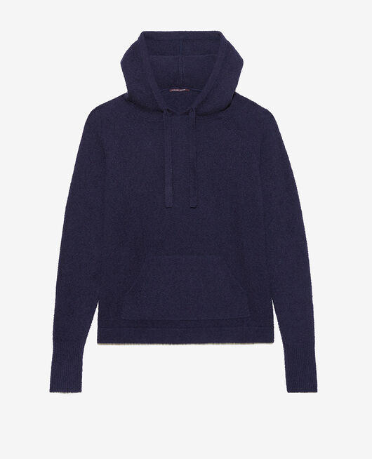 Sweatshirt mit Kapuze Marineblau VIP