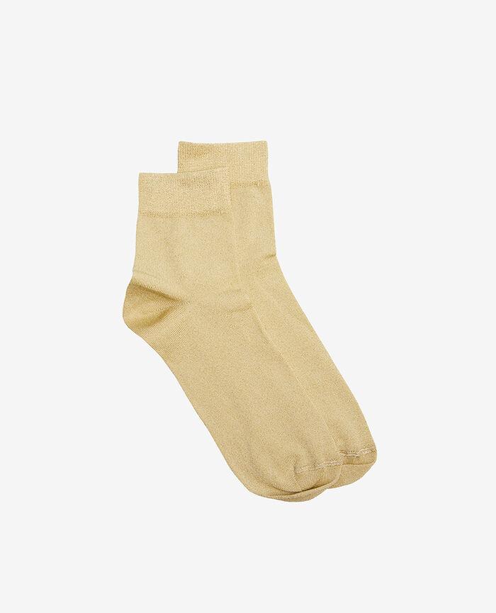 Socken Schwanengelb GLOW