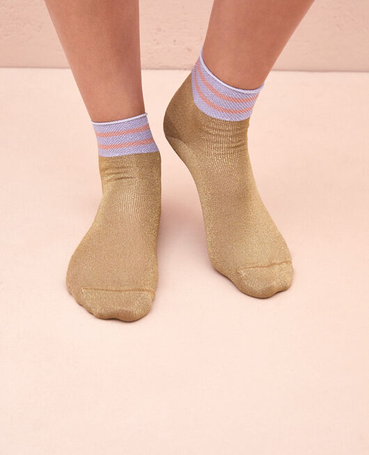 Socken Gold Lurex CALZINO