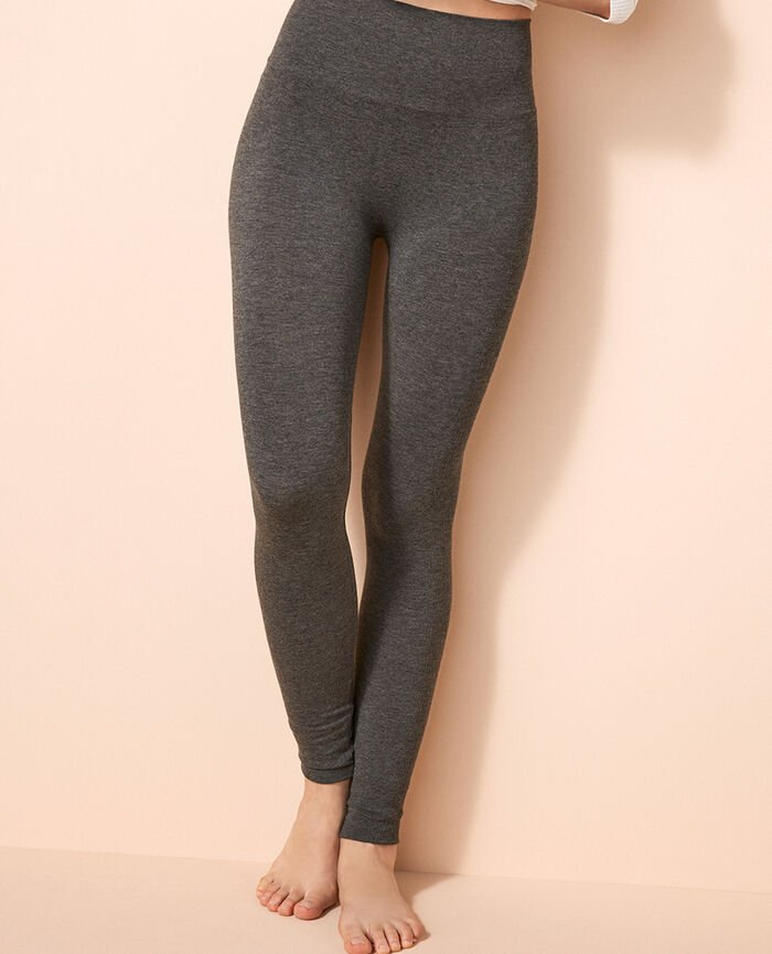 Leggings Grau meliert FIT