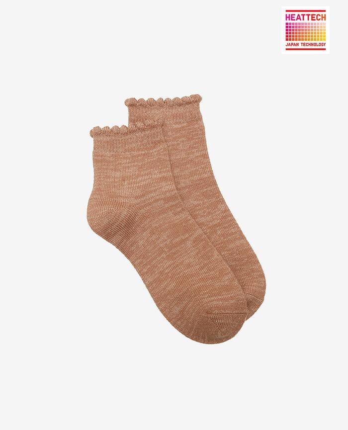 Socken Beige kamel SPARKLE