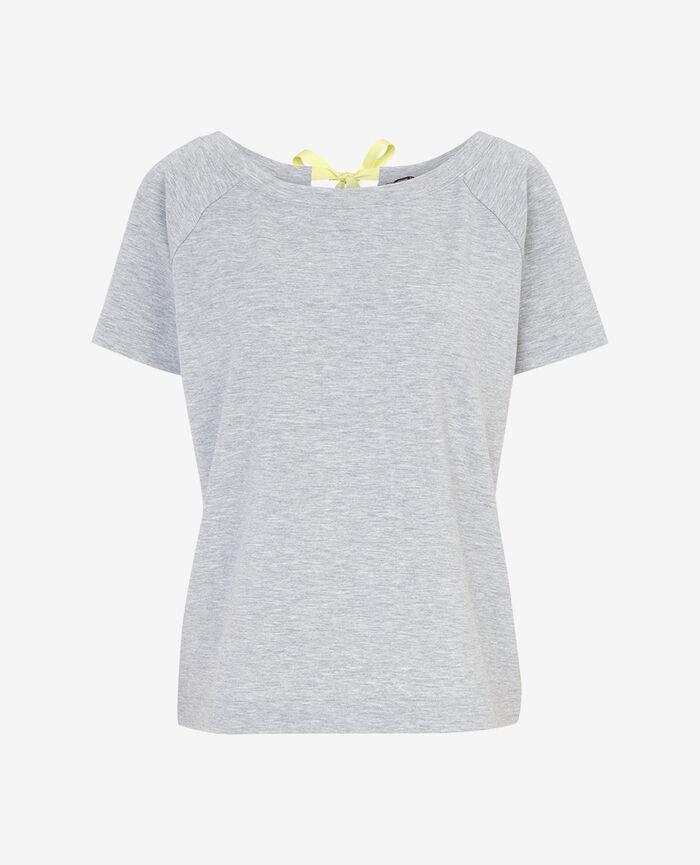 Kurzärmliges T-Shirt Grau meliert AIR LOUNGEWEAR