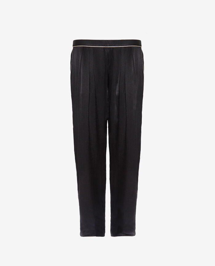 Pyjama Hose Schwarz SUBTIL