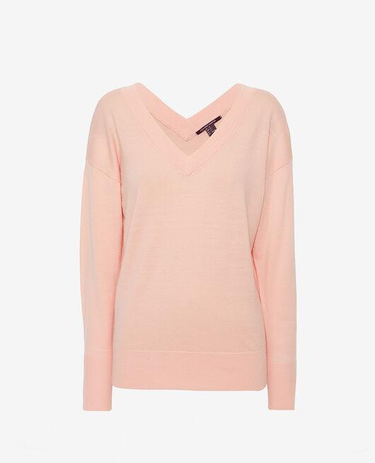 Pullover mit V-Ausschnitt Rosa Gazelle HENRI