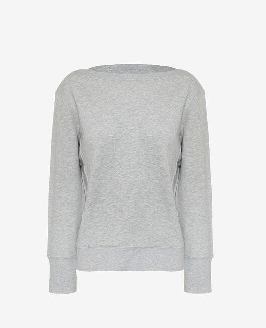Sport-Sweatshirt Grau meliert YOGA