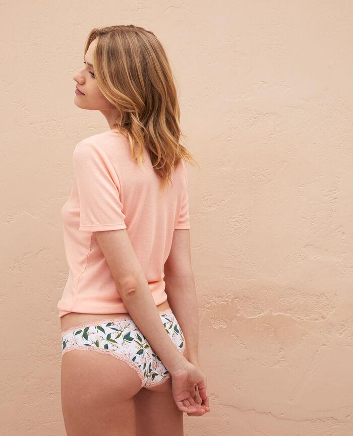 Low-cut Slip Jasmin Weiß rosé TAKE AWAY