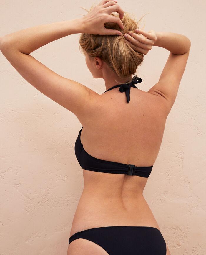 Push-up-Bikini-Oberteil Schwarz IMPALA