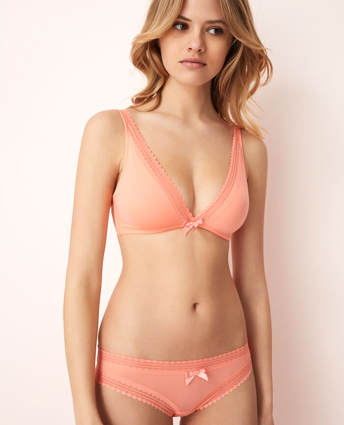 Low-cut Slip Grapefruit Rosa BEAUTE