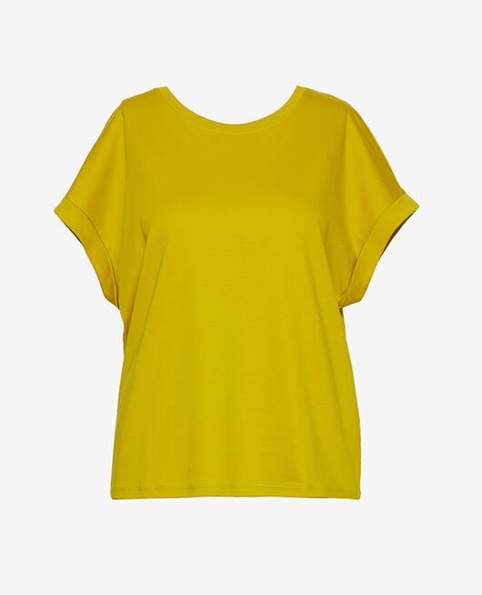 Kurzärmliges T-Shirt Anisgrün SUPIMA TEE SHIRT