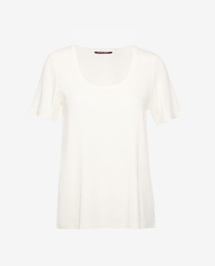 Kurzärmliges T-Shirt Schwarz DIMANCHE
