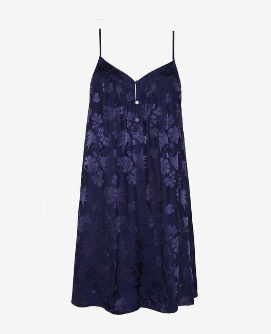 Kurzes Nachthemd Marineblau MENARA