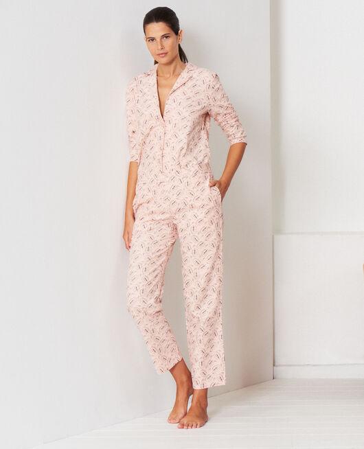 Pyjama-Set Eiche Beige Puder DODO