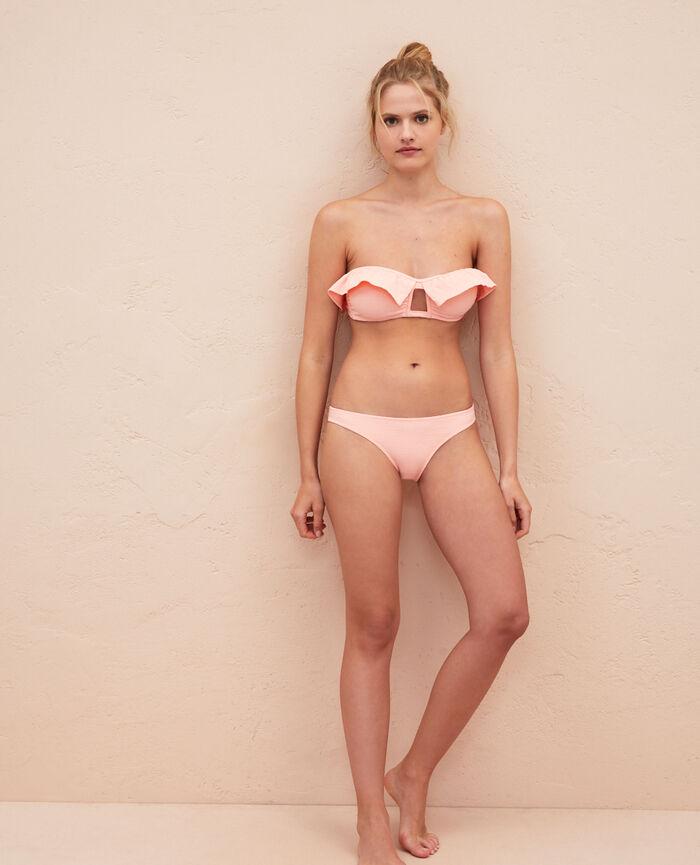 Ausgeschnittener Bikinislip Rosa Gazelle FARAH