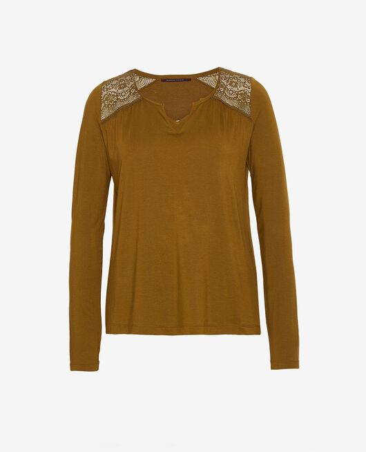 Langärmliges T-Shirt Grün bowie REVERIE