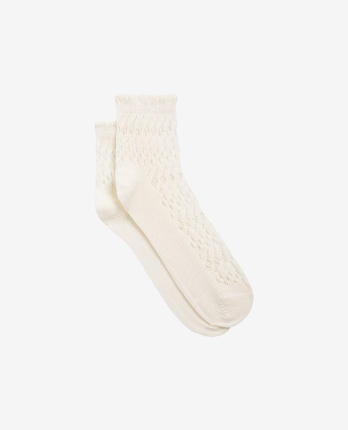 Socken Elfenbeinfarben KAWAI