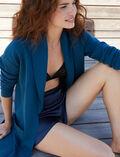 Mittellange Jacke Jazz blau SOFT