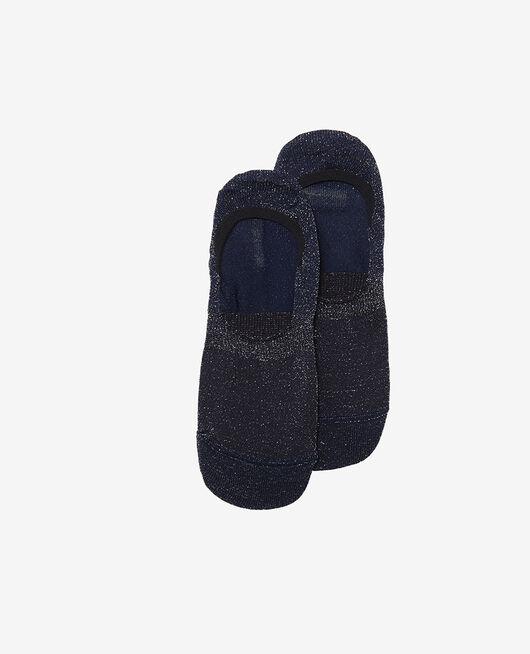 Socken Marineblau GLITTER