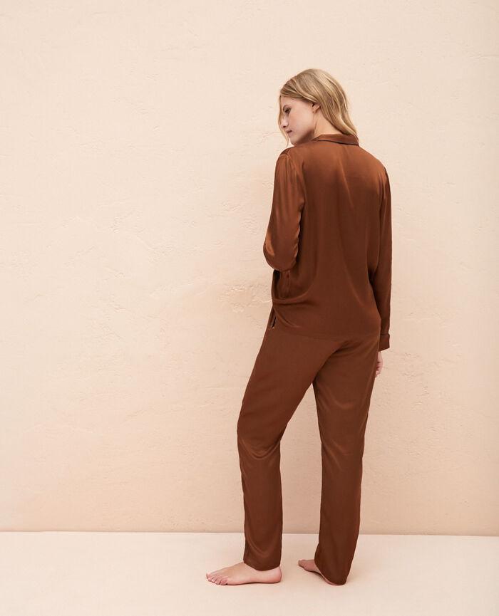 Pyjama-Jacke Bronze SUBTIL