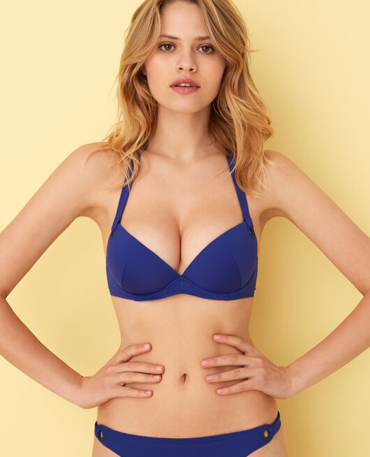 Push-up-Bikini-Oberteil Mascarablau IMPALA