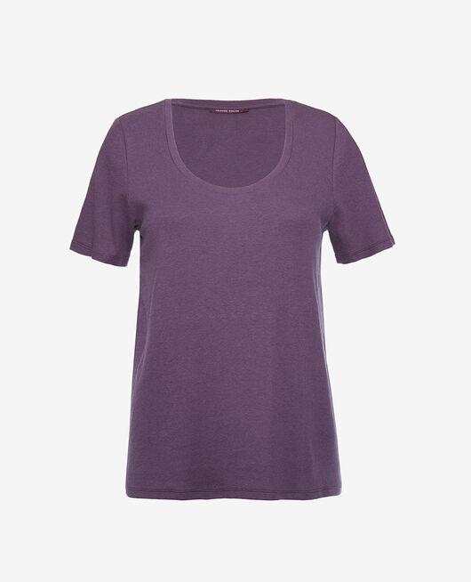 Kurzärmliges T-Shirt Cabaret blau DIMANCHE
