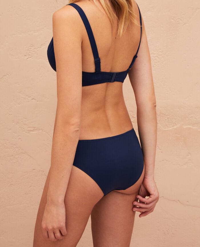 Triangel-Bikini-Oberteil mit Bügeln Nachtblau IMPALA