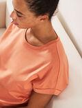 Kurzärmliges T-Shirt Blush SUPIMA