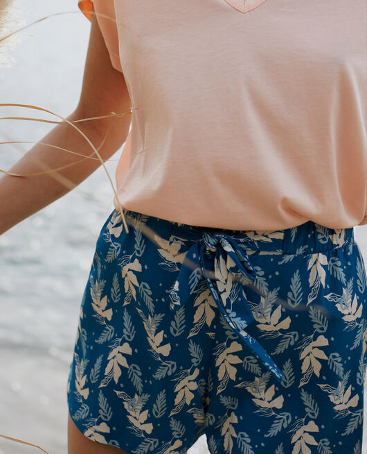 Pyjama-Shorts Aronstabgewächs Sombreroblau TAMTAM SHAKER