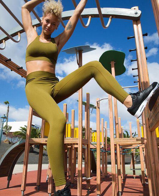 Sport-BH mit leichtem Halt Grün bowie YOGA