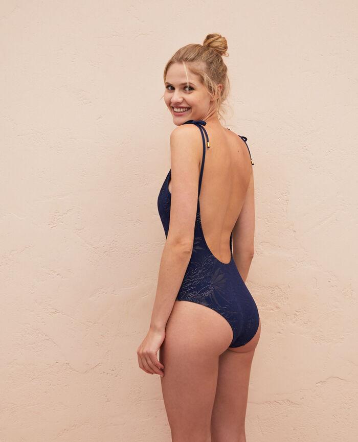 Badeanzug Nachtblau GUELIZ