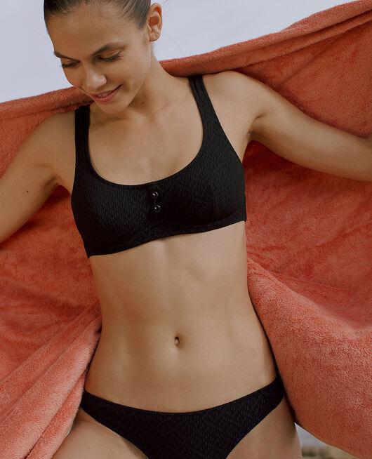 Bustier-Bikini mit Bügeln Schwarz ALLURE