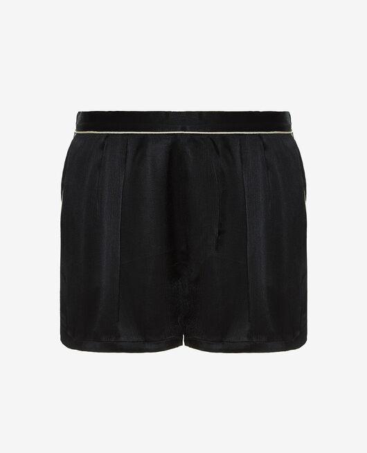 Pyjama-Shorts Schwarz SUBTIL