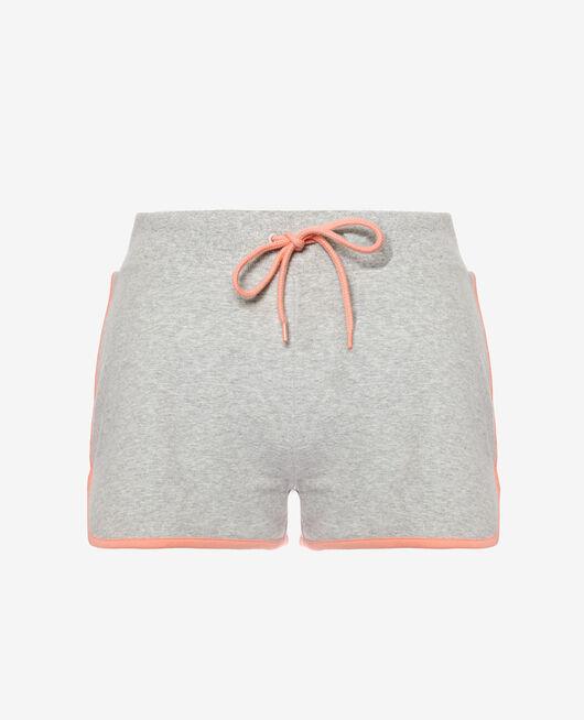 Sport-Shorts Grau meliert YOGA