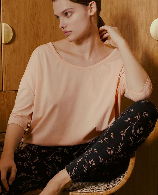 Langärmliges T-Shirt Rosa meliert TOP COLLECTION