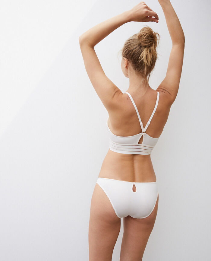Low-cut Slip Weiß rosé AIR LINGERIE