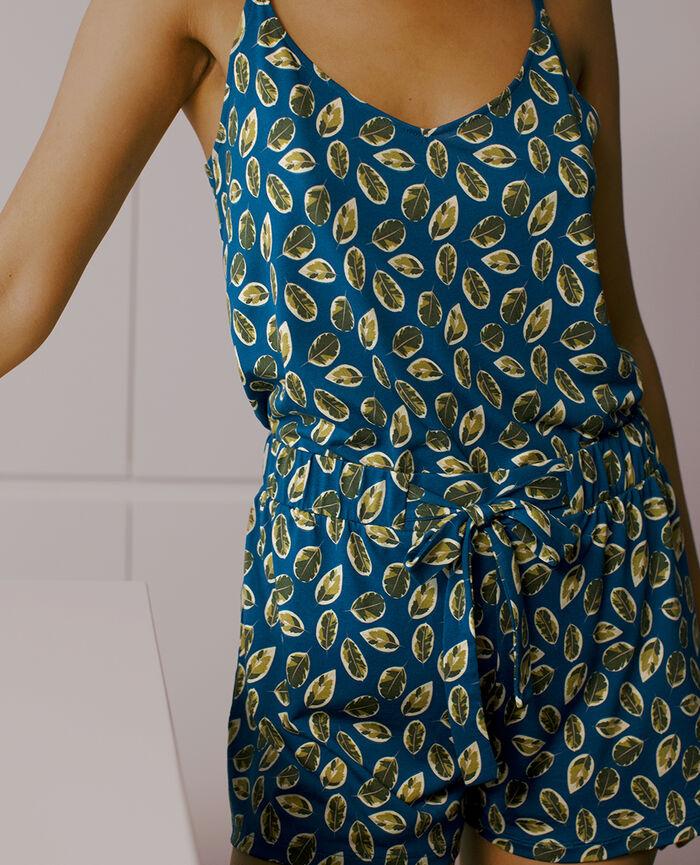 Pyjama-Shorts Ficus Sombreroblau TAM TAM SHAKER