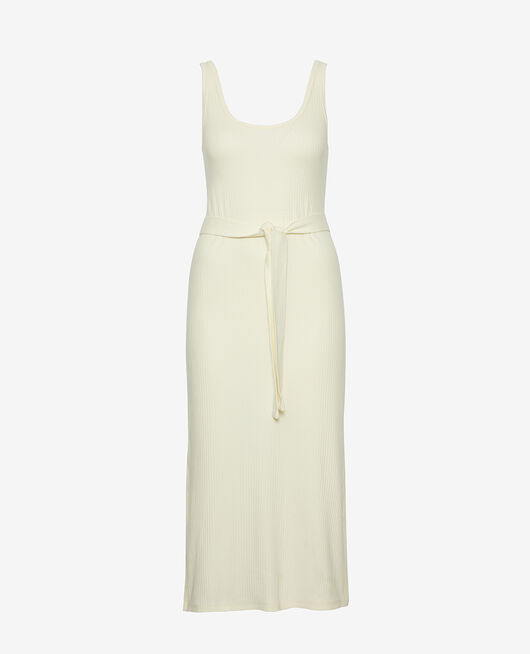 Langes Kleid Elfenbeinfarben COTE A COTE