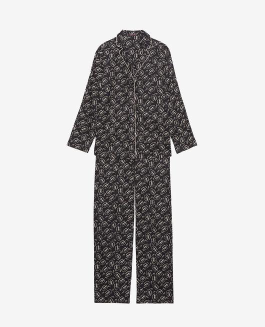 Pyjama-Set Eiche Schwarz DODO